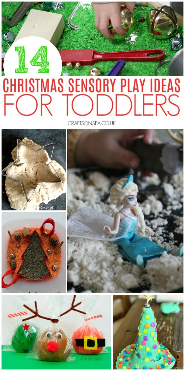 christmas sensory play ideas #sensoryplay
