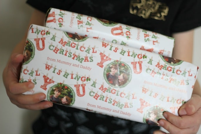dom and geri wrapping paper