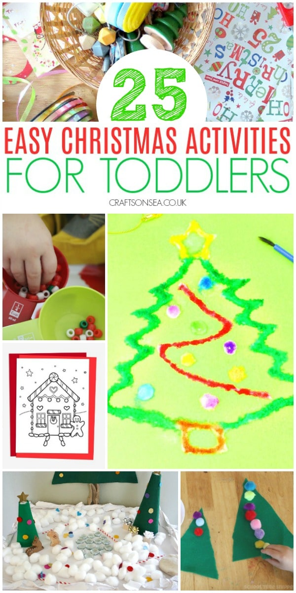 easy christmas activities for toddlers preschool #christmas #christmasactivities