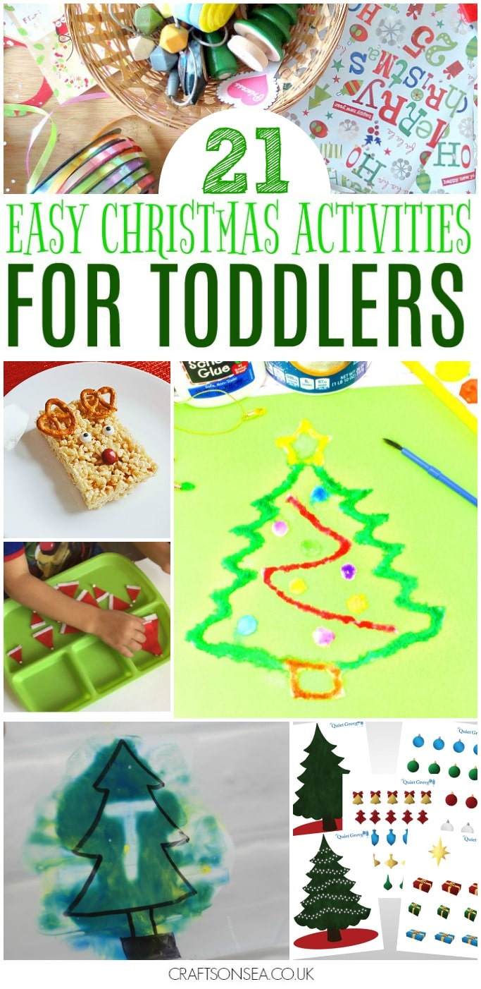 easy christmas activities for toddlers