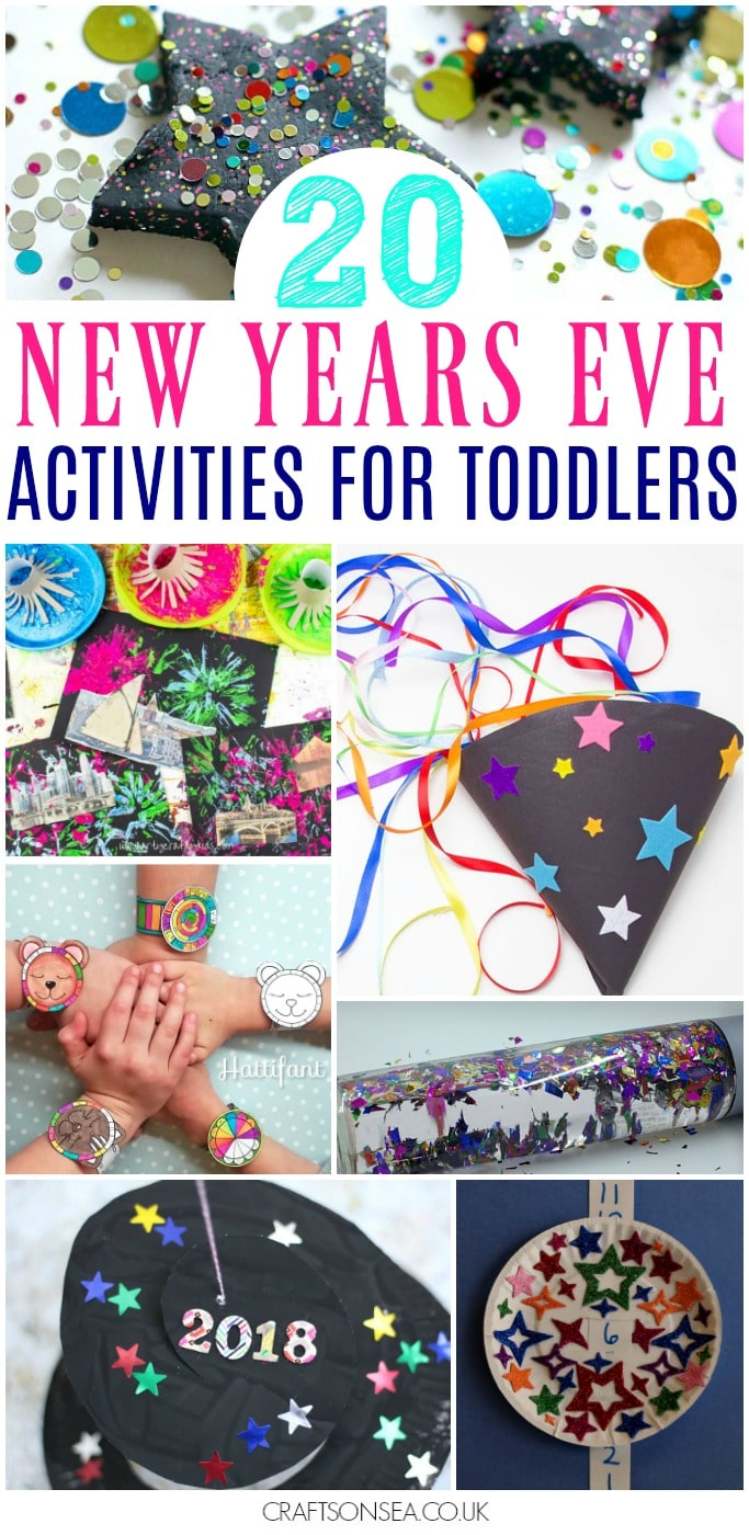 new years eve activities for toddlers crafts colouring sensory