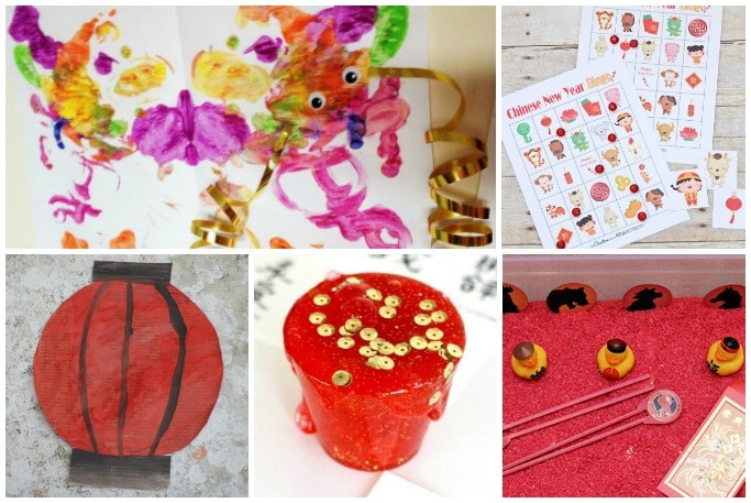 Chinese New Year activities for toddlers