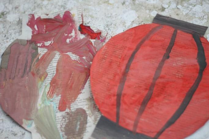 Newspaper Chinese New Year Lantern Craft