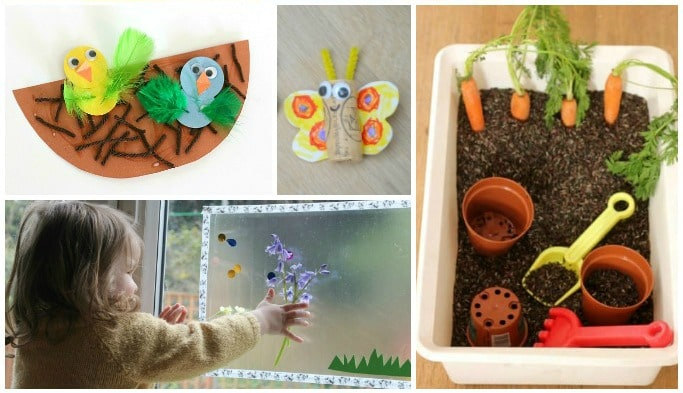 easy spring activities for toddlers