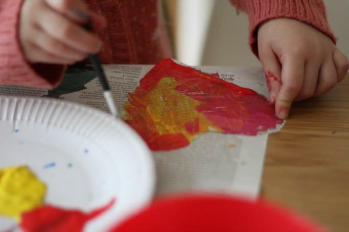 heart craft preschool
