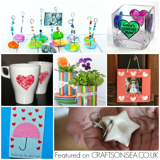Mothers Day crafts and gifts preschool