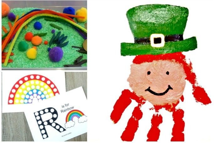 St Patricks Day activities for toddlers to do