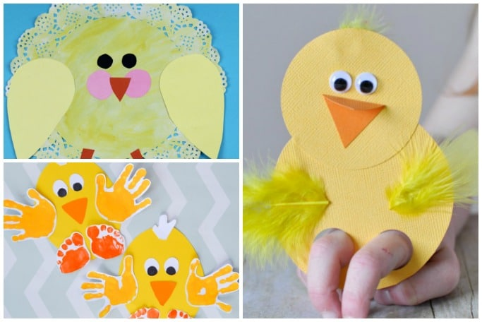 chick crafts for kids to make