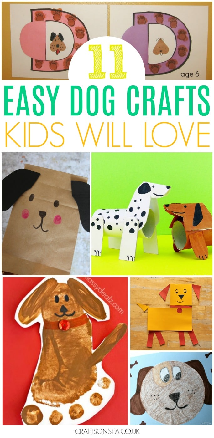 dog crafts for kids preschool
