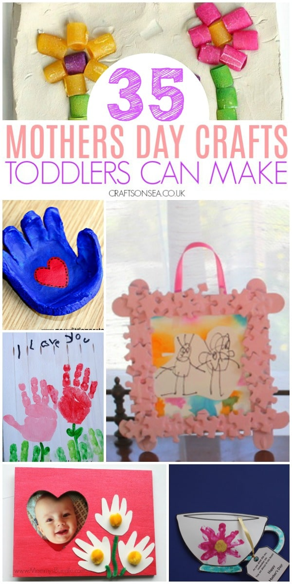 easy mothers day crafts toddlers can make