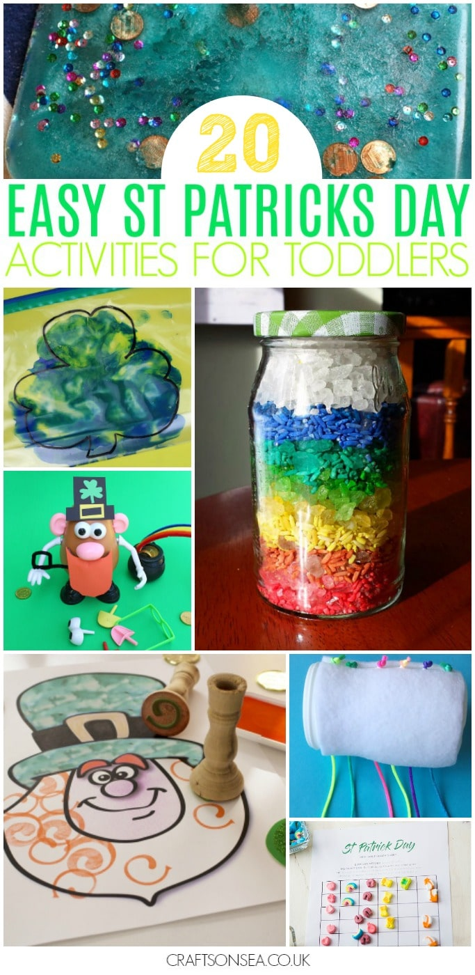 easy st patricks day activities for toddlers preschool