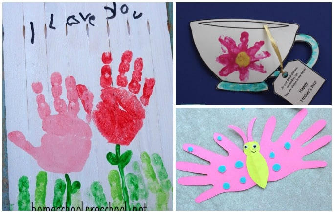 mothers day cards and crafts for toddlers