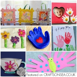 25 Mothers Day Crafts For Preschoolers Crafts On Sea