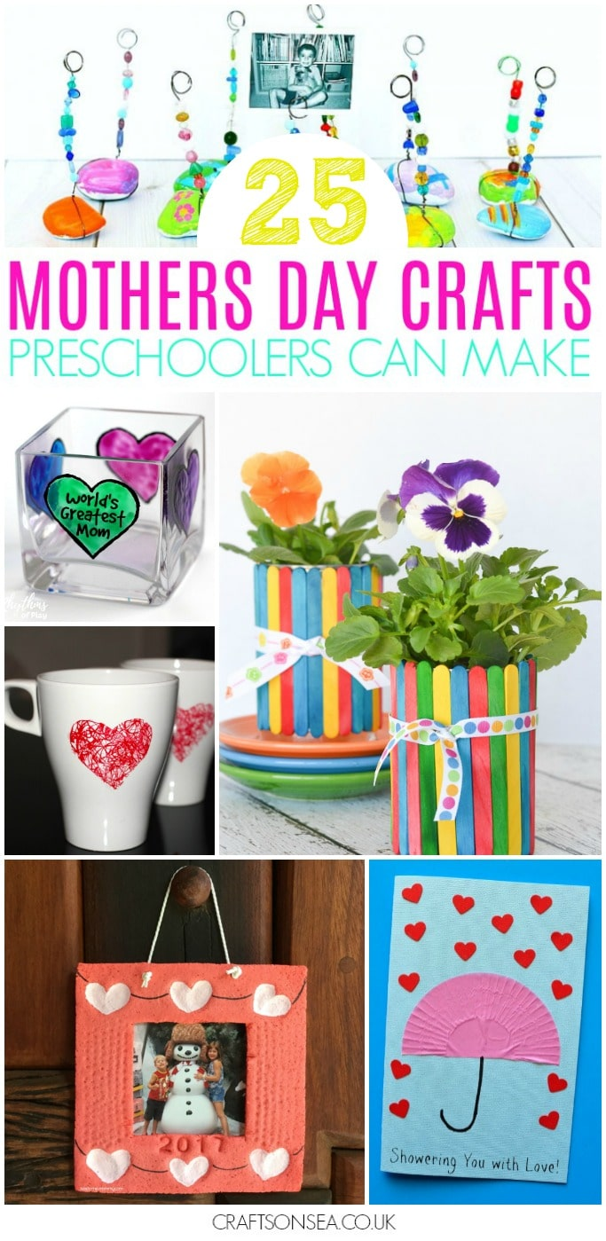 25 mothers day crafts for preschoolers crafts on sea for Mother s day crafts for kindergarten