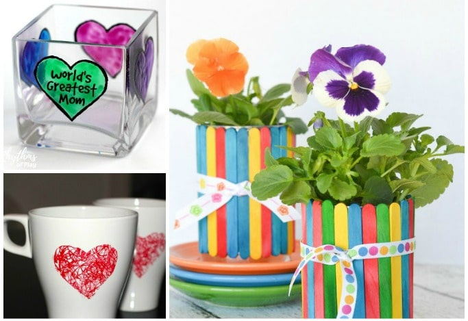 mothers day crafts for preschoolers to make