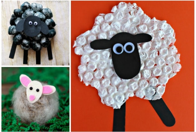 sheep crafts for kids to make