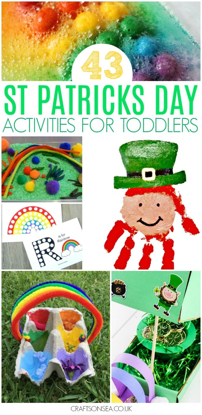 st patricks day activities for toddlers preschool kids