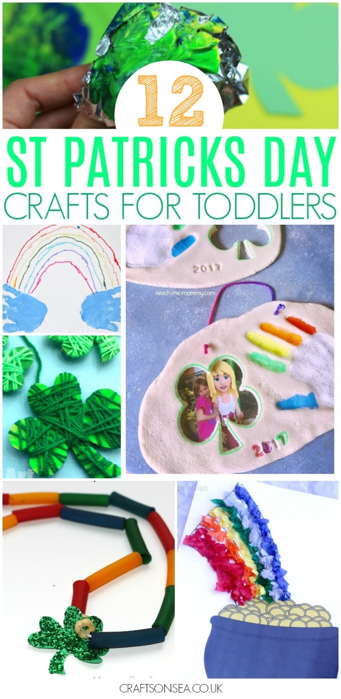 st patricks day crafts for toddlers