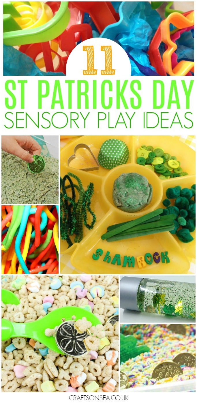 st patricks day sensory activities for kids