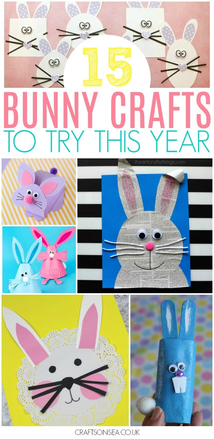 bunny crafts for kids easter spring crafts