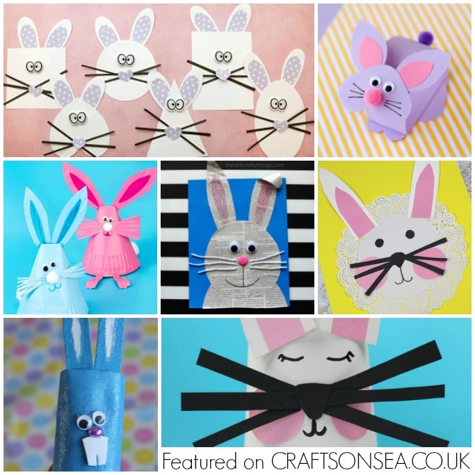 bunny crafts for kids square