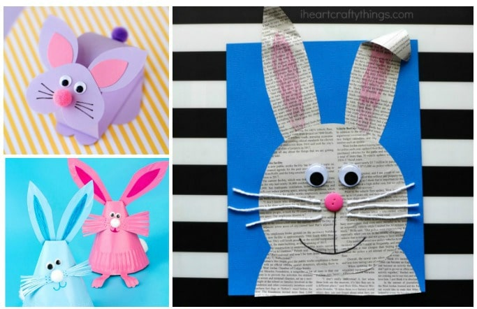 bunny crafts for kids to make easy
