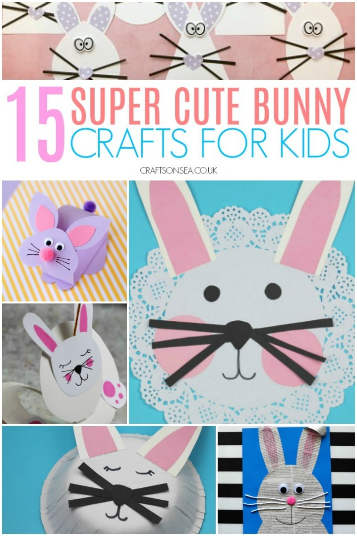 15 Bunny Crafts for Kids