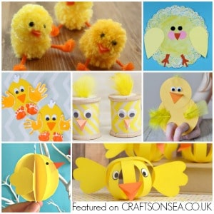 chick crafts for kids 300