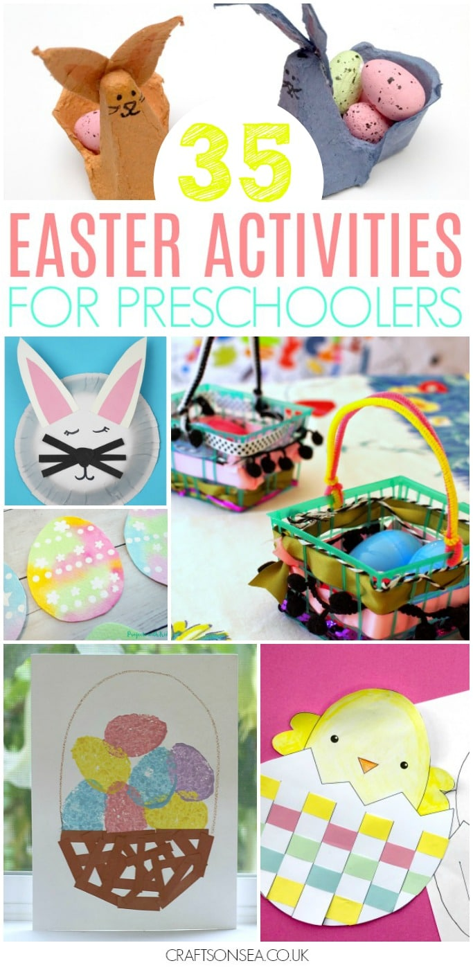 easter activites for preschoolers