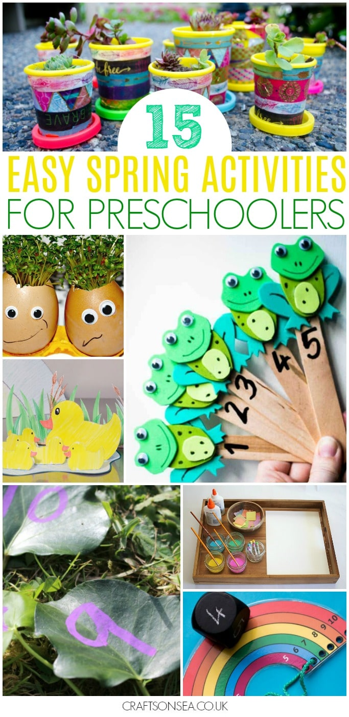 easy spring activities for preschoolers
