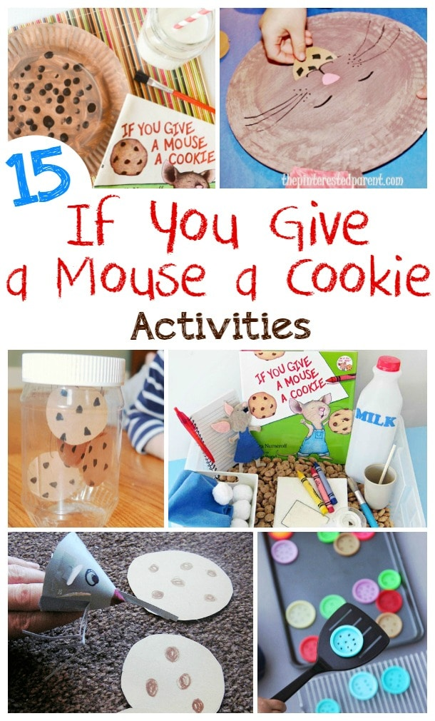 if you give a mouse a cookie activities fun