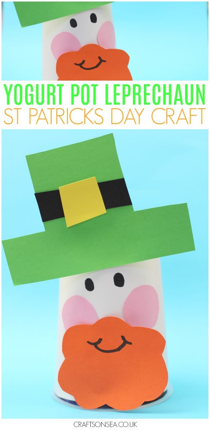 leprechaun craft for kids st pattys