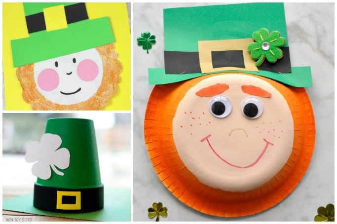 leprechaun crafts for kids easy