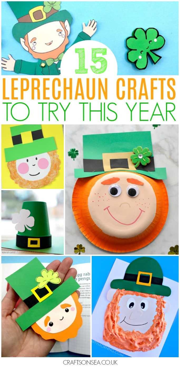 leprechaun crafts for kids