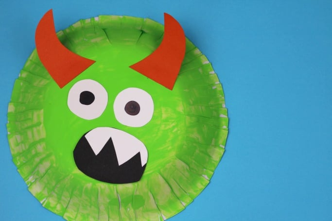 paper bowl monster craft