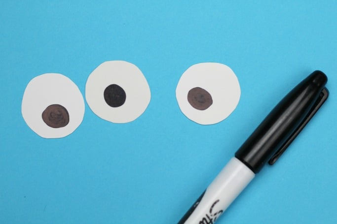 paper bowl monsters craft eyes