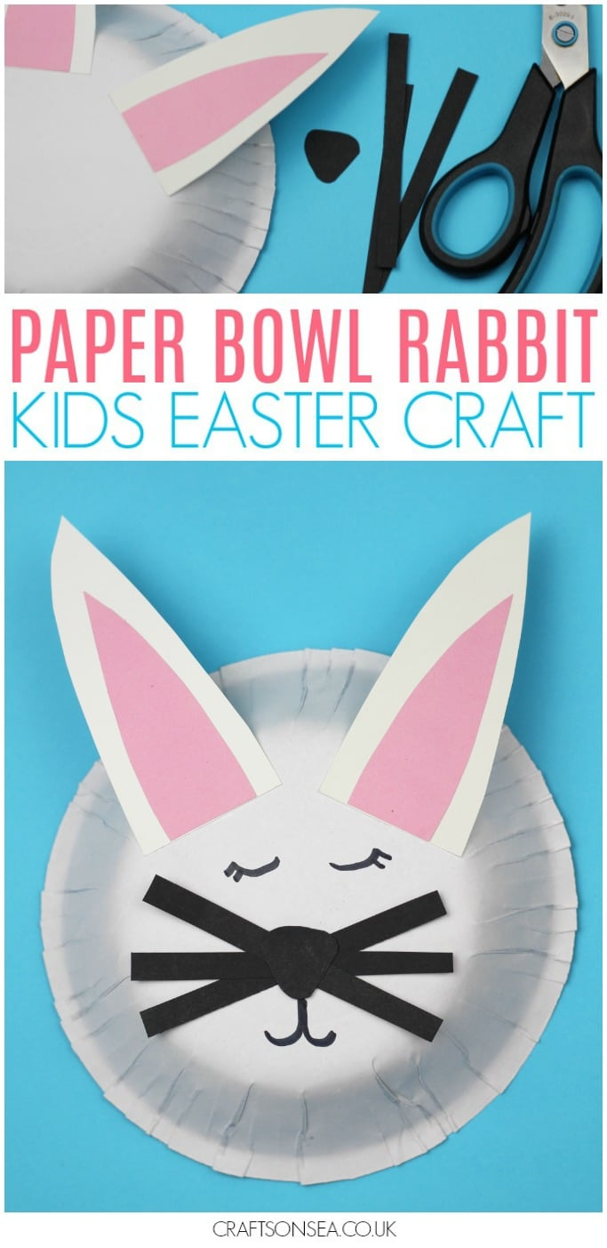 rabbit crafts for kids bunny