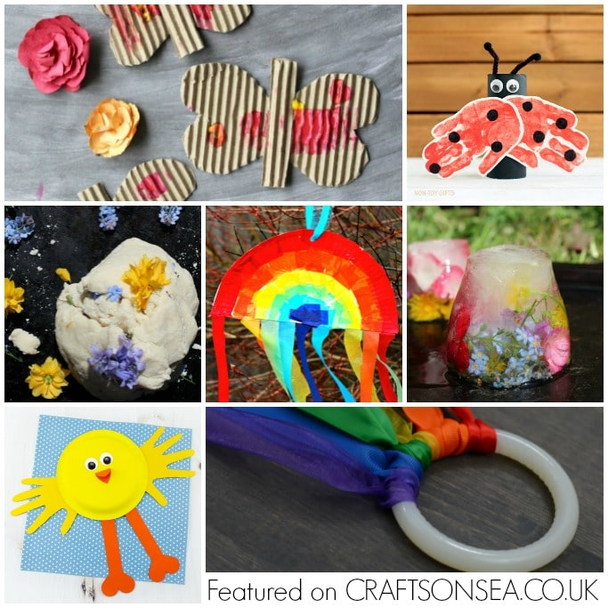 spring activities and crafts for preschoolers