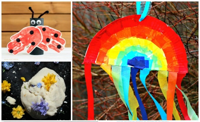 spring activities for preschoolers to make and do