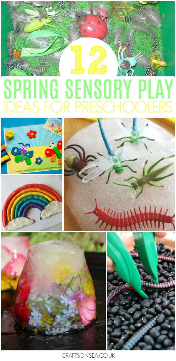 spring sensory activities for preschool