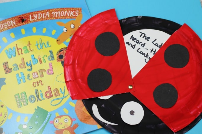 what the ladybird heard craft for kids easy