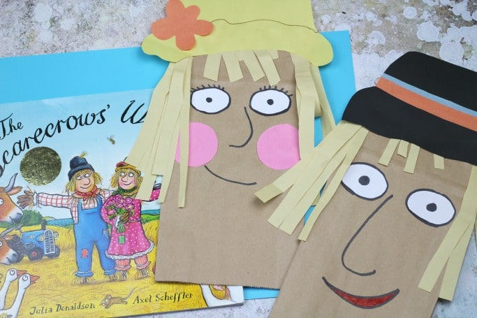 The Scarecrows Wedding craft for kids