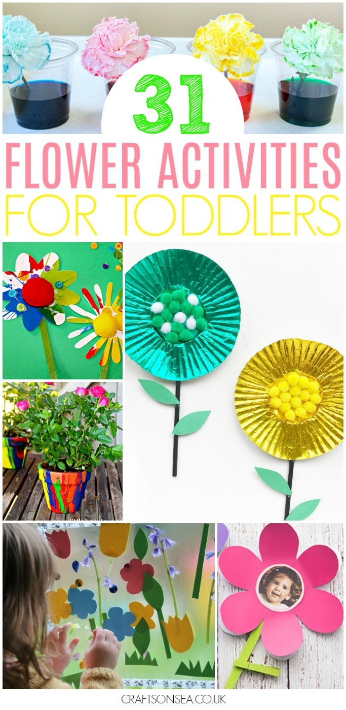 flower activities for toddlers fun