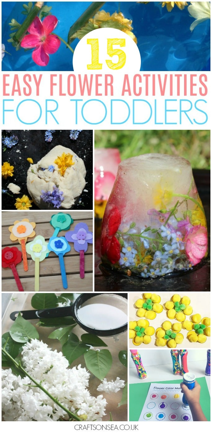 flower activities for toddlers learning crafts and sensory