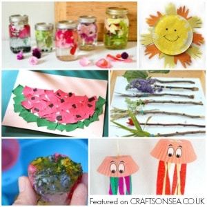 30 Flower Activities For Toddlers Crafts On Sea