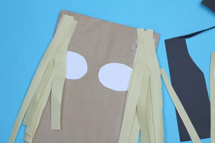 the scarecrows wedding paper bag craft