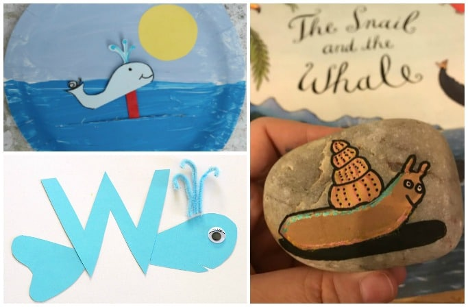 the snail and the whale craft ideas and activities for kids