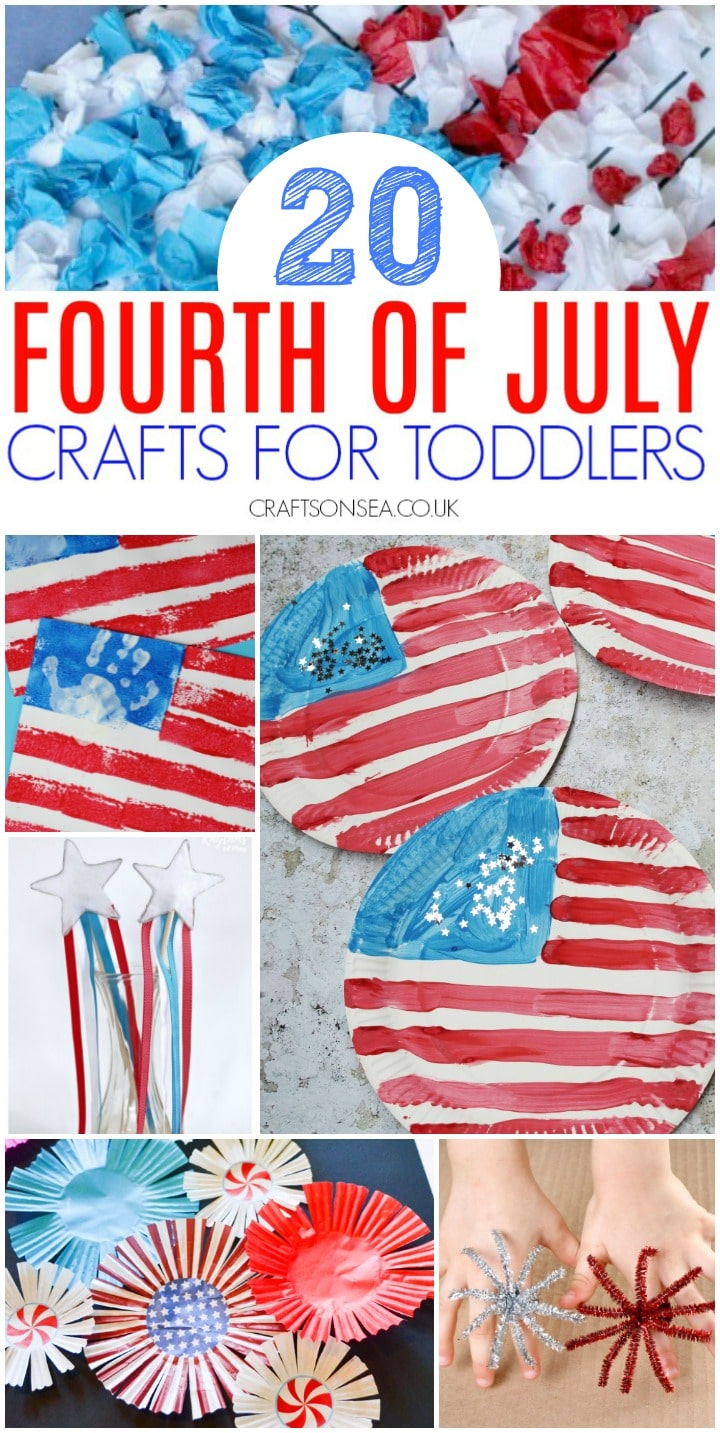 4th of July crafts for toddlers simple ideas for kids preschoolers