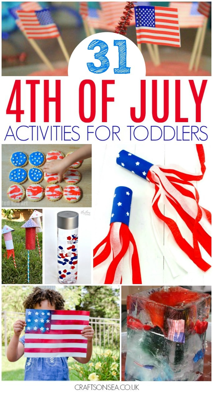 4th of july activities for toddlers kids easy