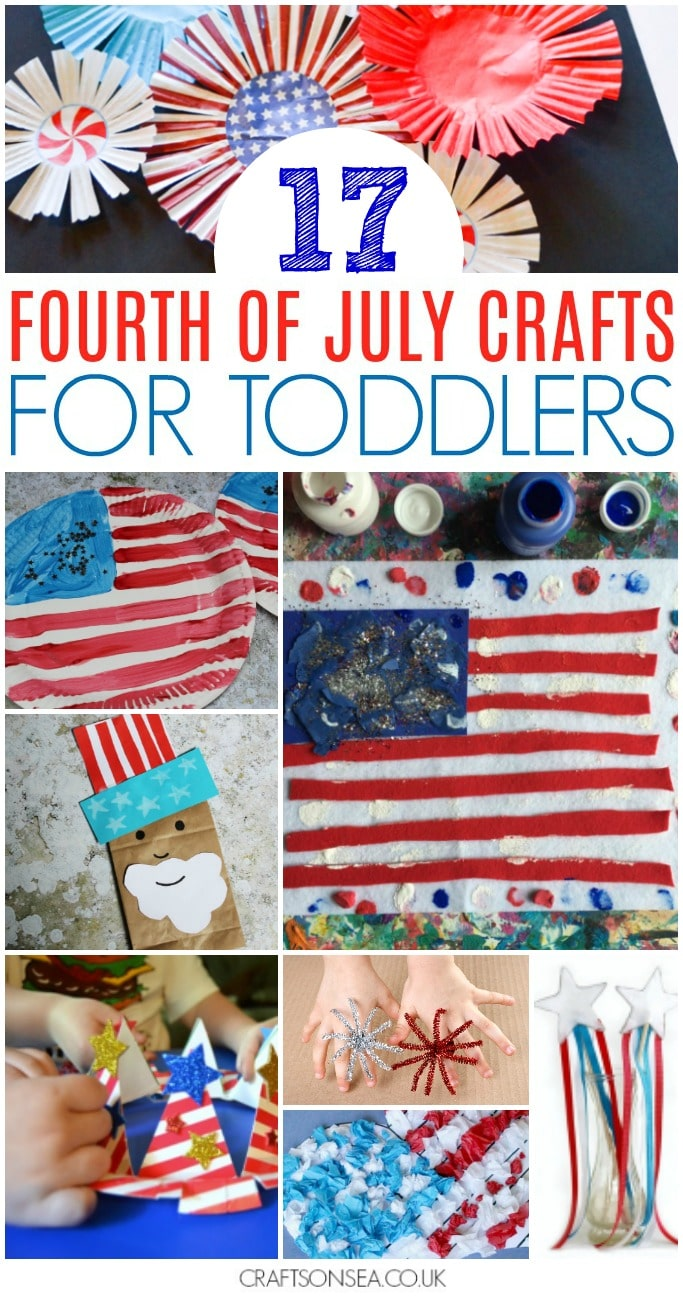 4th of july crafts for toddlers simple preschool